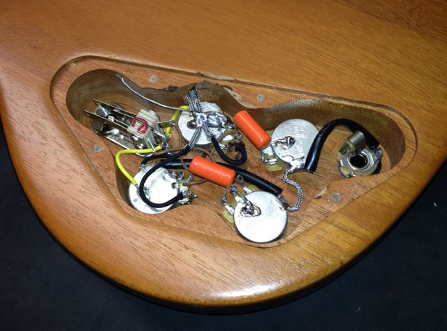 Gibson Sg Special 60s Tribute Wiring Confusion